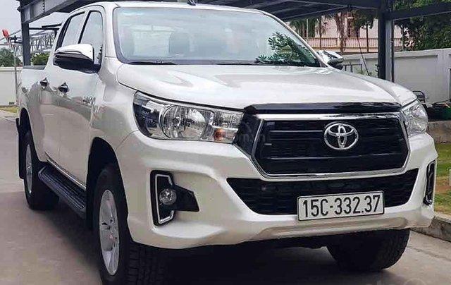 Bán xe Toyota Hilux sản xuất năm 2020, màu trắng, nhập khẩu 0