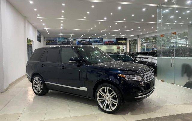[Hàng hot mới về] Range Rover HSE 3.0 2014, đăng ký 2015 thùng to lên full black  1