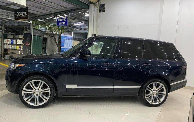 [Hàng hot mới về] Range Rover HSE 3.0 2014, đăng ký 2015 thùng to lên full black  4