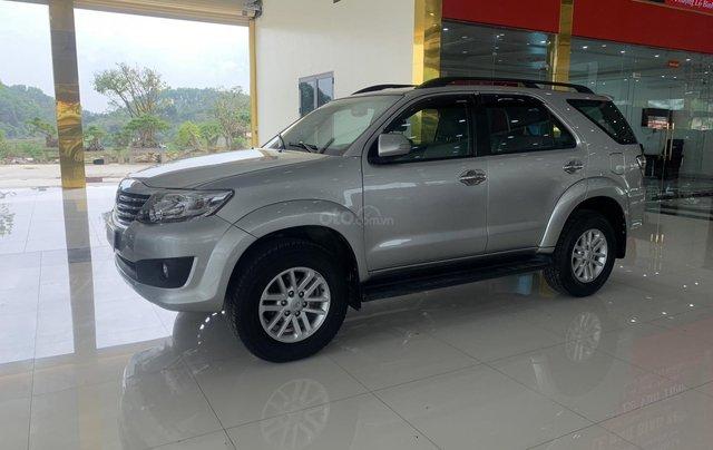 Bán Toyota Fortuner 2.7AT 2012, màu bạc3