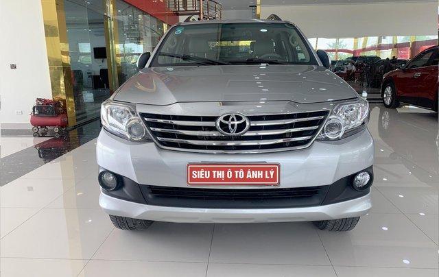 Bán Toyota Fortuner 2.7AT 2012, màu bạc0