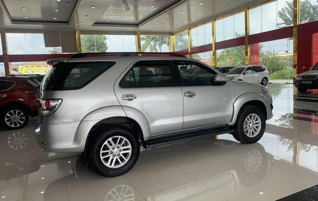 Bán Toyota Fortuner 2.7AT 2012, màu bạc5