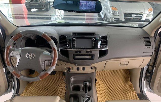 Bán Toyota Fortuner 2.7AT 2012, màu bạc6