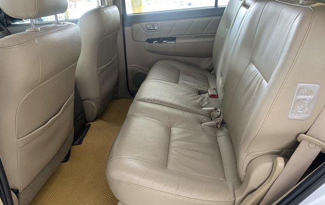 Bán Toyota Fortuner 2.7AT 2012, màu bạc8