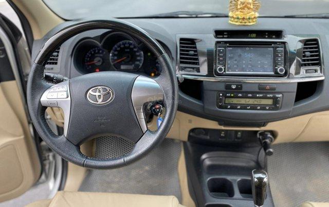 Bán Toyota Fortuner máy xăng, sx 20165