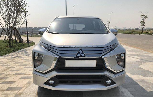 Cần bán Mitsubishi Xpander đời 2018, màu bạc, xe như mới, có hỗ trợ trả góp0