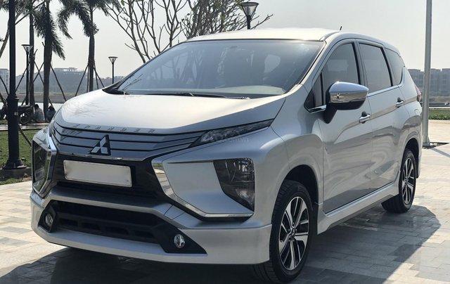 Cần bán Mitsubishi Xpander đời 2018, màu bạc, xe như mới, có hỗ trợ trả góp3