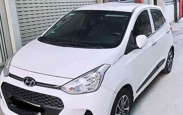 Cần bán xe Hyundai Grand i10 sản xuất năm 2019, màu trắng  0