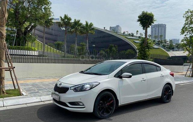 Bán Kia K3 2.0, đời 2016 màu trắng, còn mới0