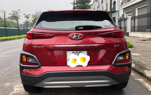 Hyundai Kona 1.6 Turbo sản xuất năm 2019, màu đỏ còn mới nguyên1