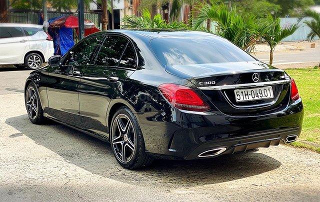 Bán Mercedes Benz C300AMG ĐK 02/2019, sản xuất cuối 2018, chạy 6.000km, xe như xe mới, còn bảo hành hãng10