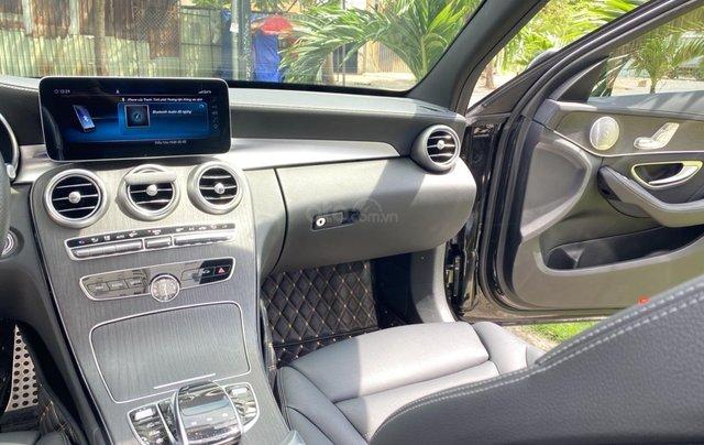 Bán Mercedes Benz C300AMG ĐK 02/2019, sản xuất cuối 2018, chạy 6.000km, xe như xe mới, còn bảo hành hãng5