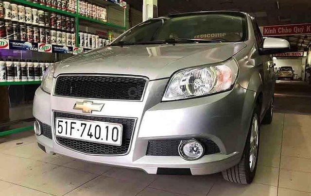 Cần bán xe Chevrolet Aveo sản xuất năm 2016, màu bạc số sàn0