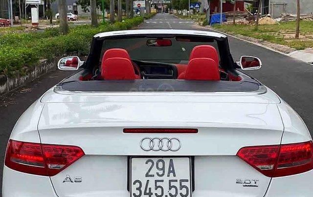 Xe Audi A5 2010, màu trắng, nhập khẩu nguyên chiếc1