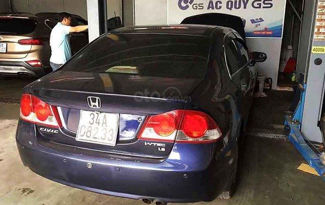 Cần bán lại xe Honda Civic sản xuất năm 2007, màu xanh lam chính chủ, 240tr0