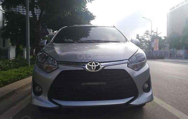 Bán lại xe Toyota Wigo sản xuất 2019, màu bạc, nhập khẩu số sàn, giá chỉ 305 triệu1