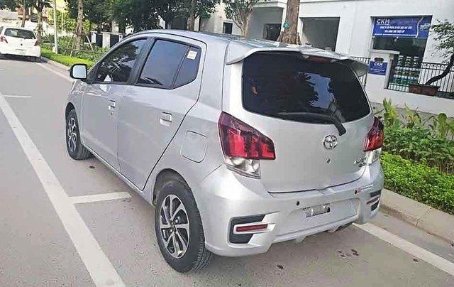 Bán lại xe Toyota Wigo sản xuất 2019, màu bạc, nhập khẩu số sàn, giá chỉ 305 triệu0