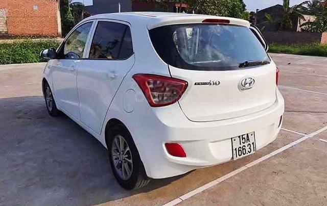 Bán xe Hyundai Grand i10 sản xuất năm 2014, màu trắng, nhập khẩu nguyên chiếc số sàn, giá 190tr4