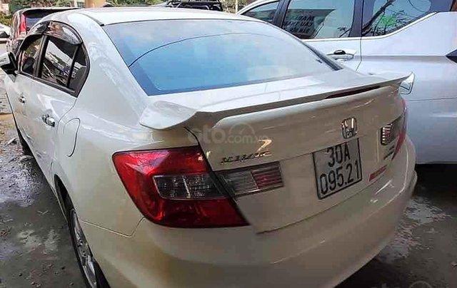 Cần bán Honda Civic năm 2014, màu trắng4