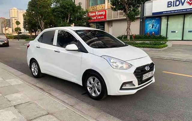 Bán Hyundai Grand i10 2019, màu trắng số tự động0
