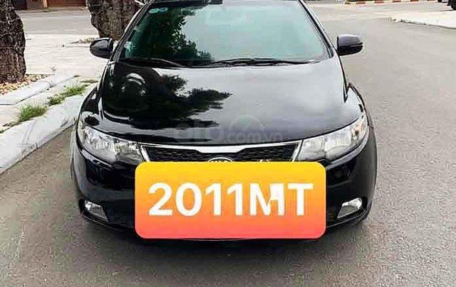 Bán lại xe Kia Forte 2012, màu đen số sàn, giá 280tr0