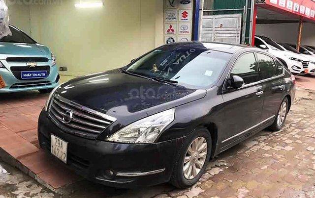 Cần bán Nissan Teana đời 2010, màu đen, nhập khẩu, giá chỉ 395 triệu0