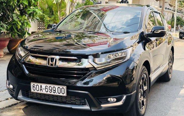 Bán Honda CR V sản xuất 2019, màu đen, nhập khẩu 1
