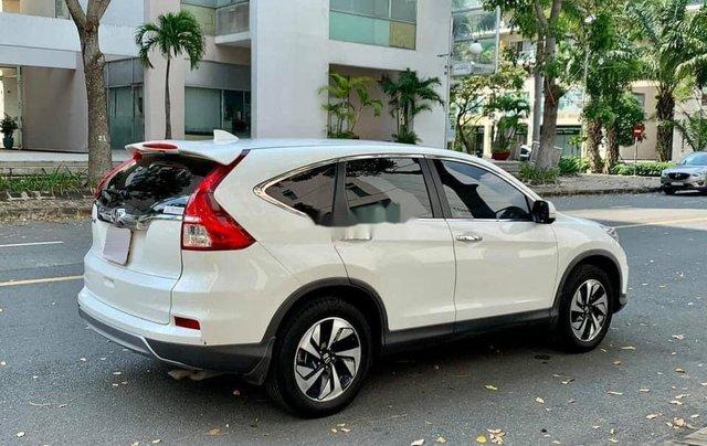 Cần bán gấp Honda CR V sản xuất 2017, màu trắng chính chủ1