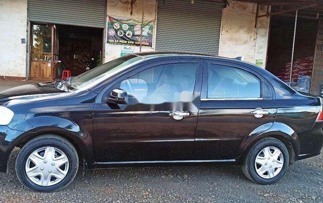 Cần bán xe Daewoo Gentra đời 2007, màu đen6