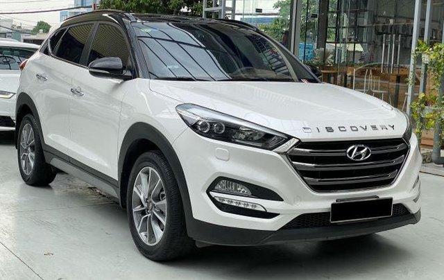 Cần bán xe Hyundai Tucson năm sản xuất 2018, màu trắng còn mới, 845 triệu1