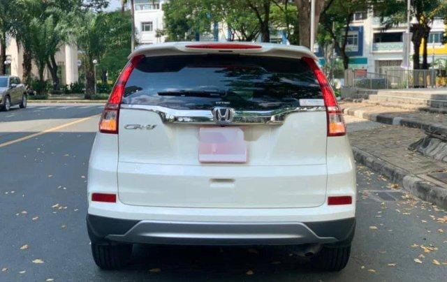 Cần bán gấp Honda CR V sản xuất 2017, màu trắng chính chủ2