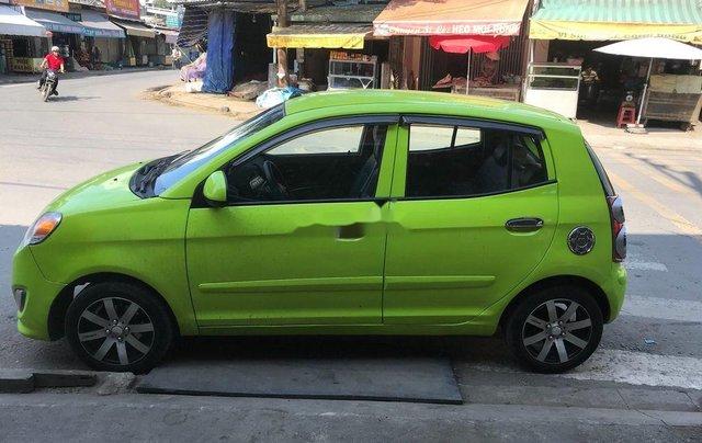 Cần bán gấp Kia Morning đời 2011, màu xanh lục, nhập khẩu 2