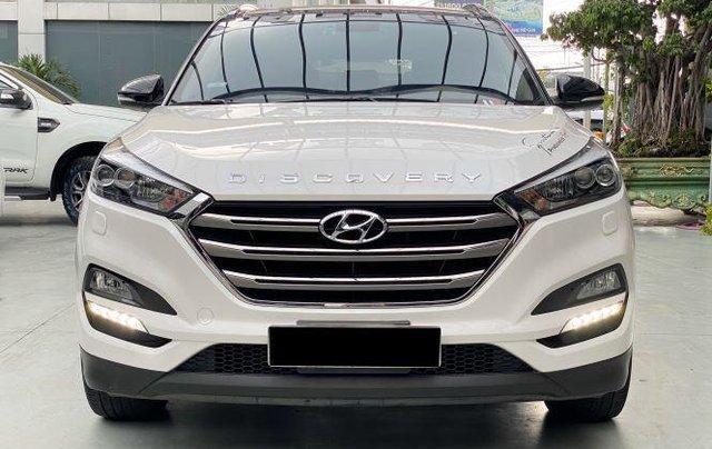 Cần bán xe Hyundai Tucson năm sản xuất 2018, màu trắng còn mới, 845 triệu0