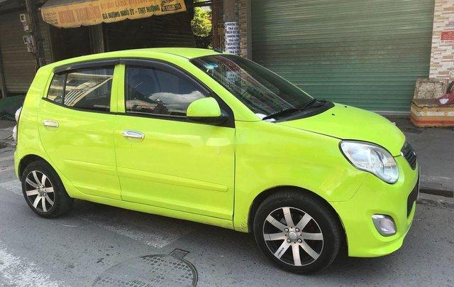 Cần bán gấp Kia Morning đời 2011, màu xanh lục, nhập khẩu 5