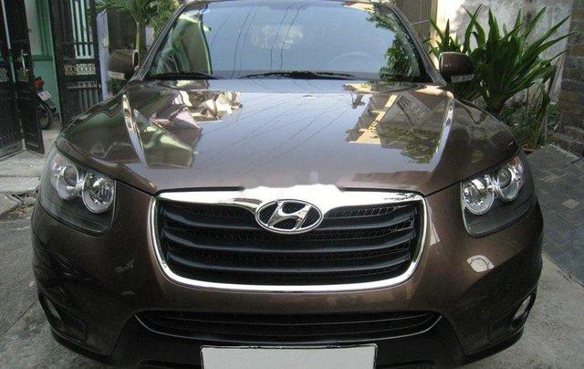 Bán Hyundai Santa Fe đời 2012, màu nâu, nhập khẩu chính chủ, 577 triệu0