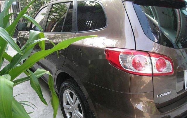 Bán Hyundai Santa Fe đời 2012, màu nâu, nhập khẩu chính chủ, 577 triệu3
