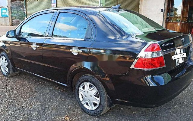 Cần bán xe Daewoo Gentra đời 2007, màu đen2