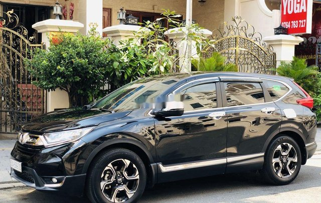 Bán Honda CR V sản xuất 2019, màu đen, nhập khẩu 2
