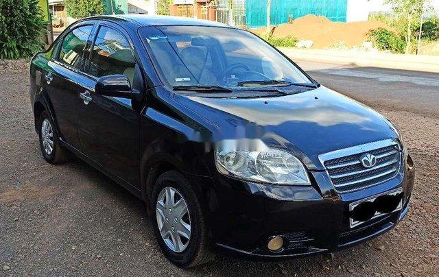 Cần bán xe Daewoo Gentra đời 2007, màu đen1