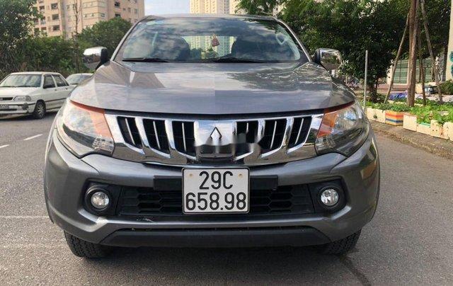 Bán Mitsubishi Triton năm sản xuất 2016, màu xám, nhập khẩu, giá chỉ 455 triệu0