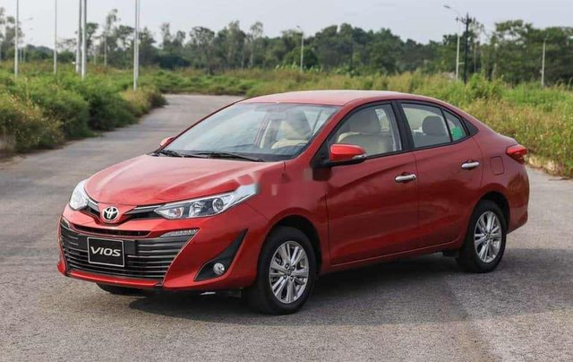 Bán ô tô Toyota Vios CVT năm sản xuất 2020, giá tốt1