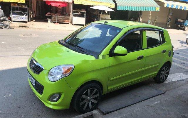 Cần bán gấp Kia Morning đời 2011, màu xanh lục, nhập khẩu 1