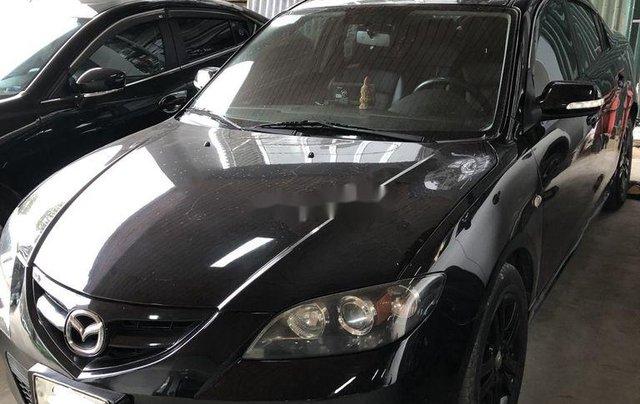 Bán Mazda 3 sản xuất năm 2009, màu đen, xe nhập, 285 triệu0