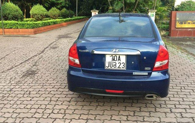 Xe Hyundai Verna 2009, màu xanh lam, nhập khẩu còn mới, giá chỉ 242 triệu2