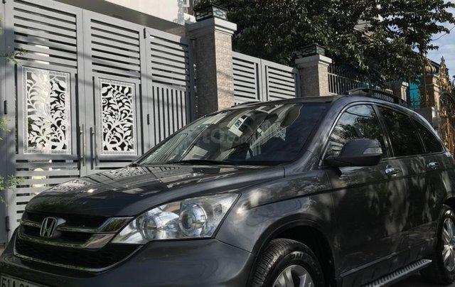 Cần bán xe honda CRV, đăng kí 2011, màu xám, 440 triệu0