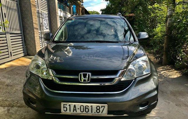 Cần bán xe honda CRV, đăng kí 2011, màu xám, 440 triệu3