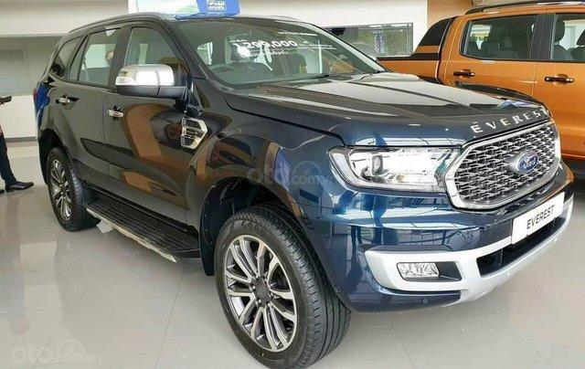 Ford Everest Titanium 4x4 mới 2020 Fom 2021. Giảm ngay 99tr tiền mặt và tặng phụ kiện giá trị0