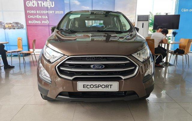 Ford Ecosport 2020 AT lăn bánh chỉ cần 149tr0