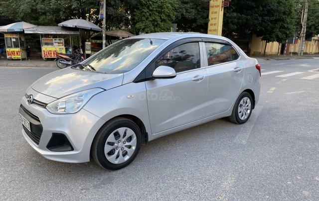 Hyundai Grand i10 1.2 Sport 2015, màu bạc, nhập khẩu, chính chủ cán bộ huyện Sóc Sơn, quá chất lượng1