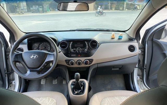 Hyundai Grand i10 1.2 Sport 2015, màu bạc, nhập khẩu, chính chủ cán bộ huyện Sóc Sơn, quá chất lượng4